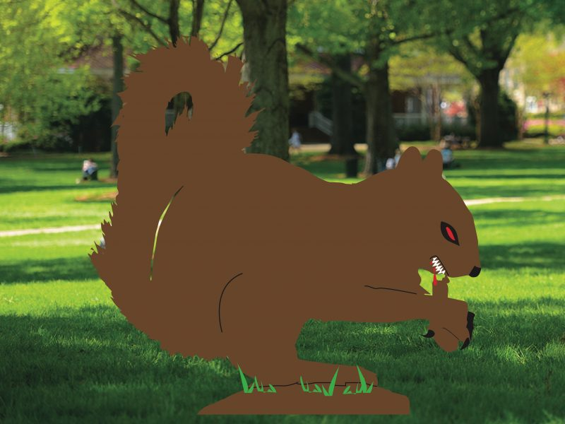 Zombie Squirrel