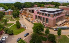 the ole miss student union under construction
